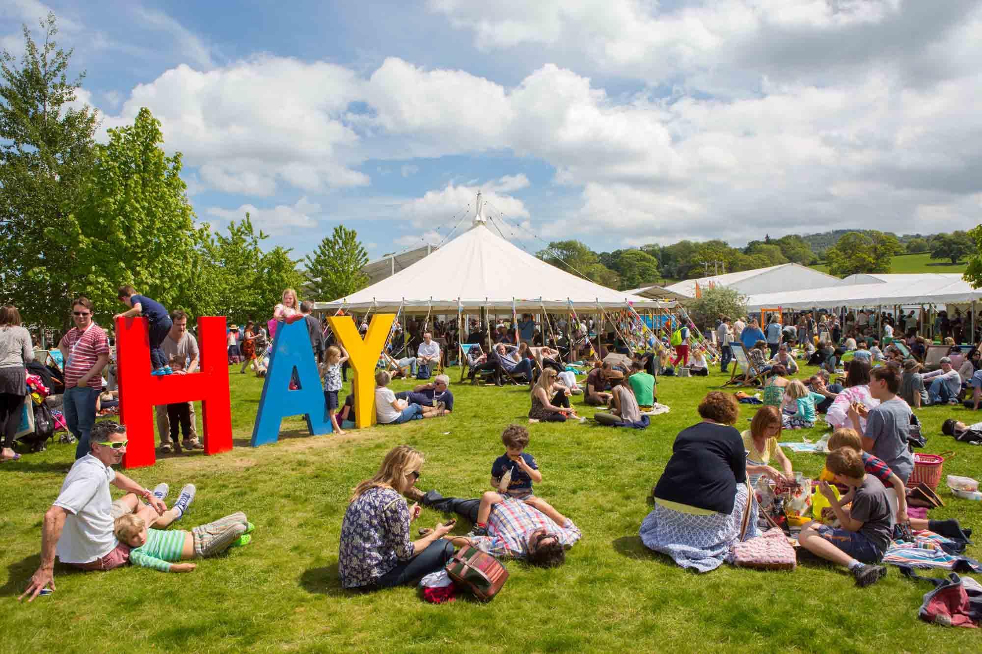 Best UK arts festivals - Hay on Wye