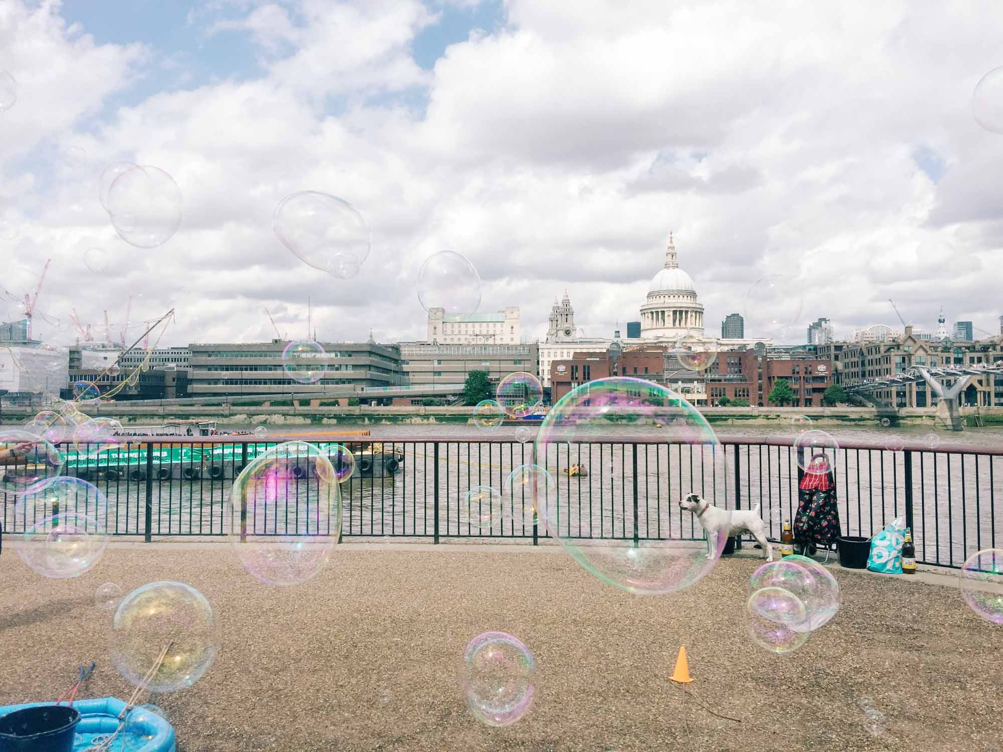 Best views in London - South Bank