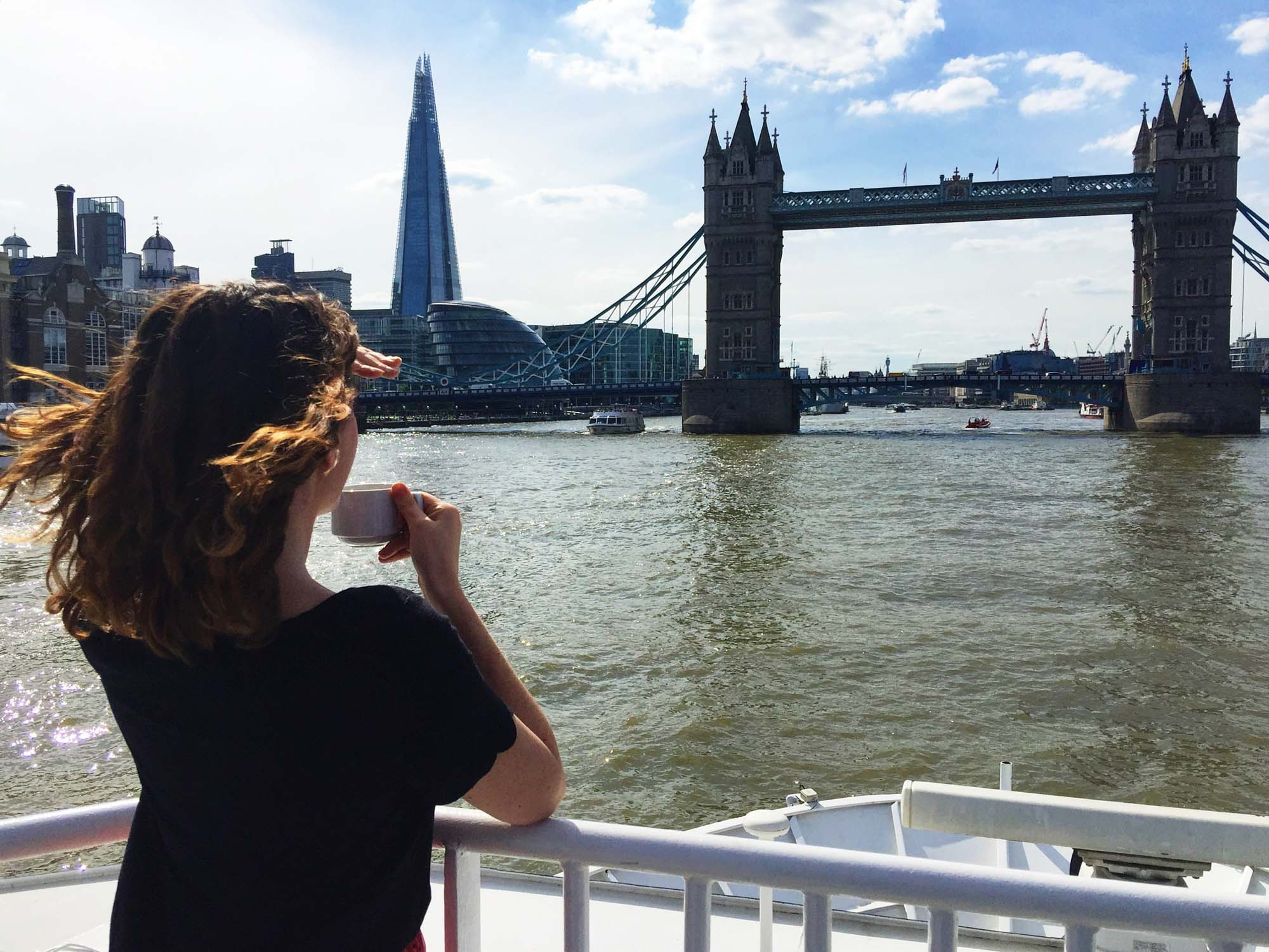 Best views in London - Thames Cruise