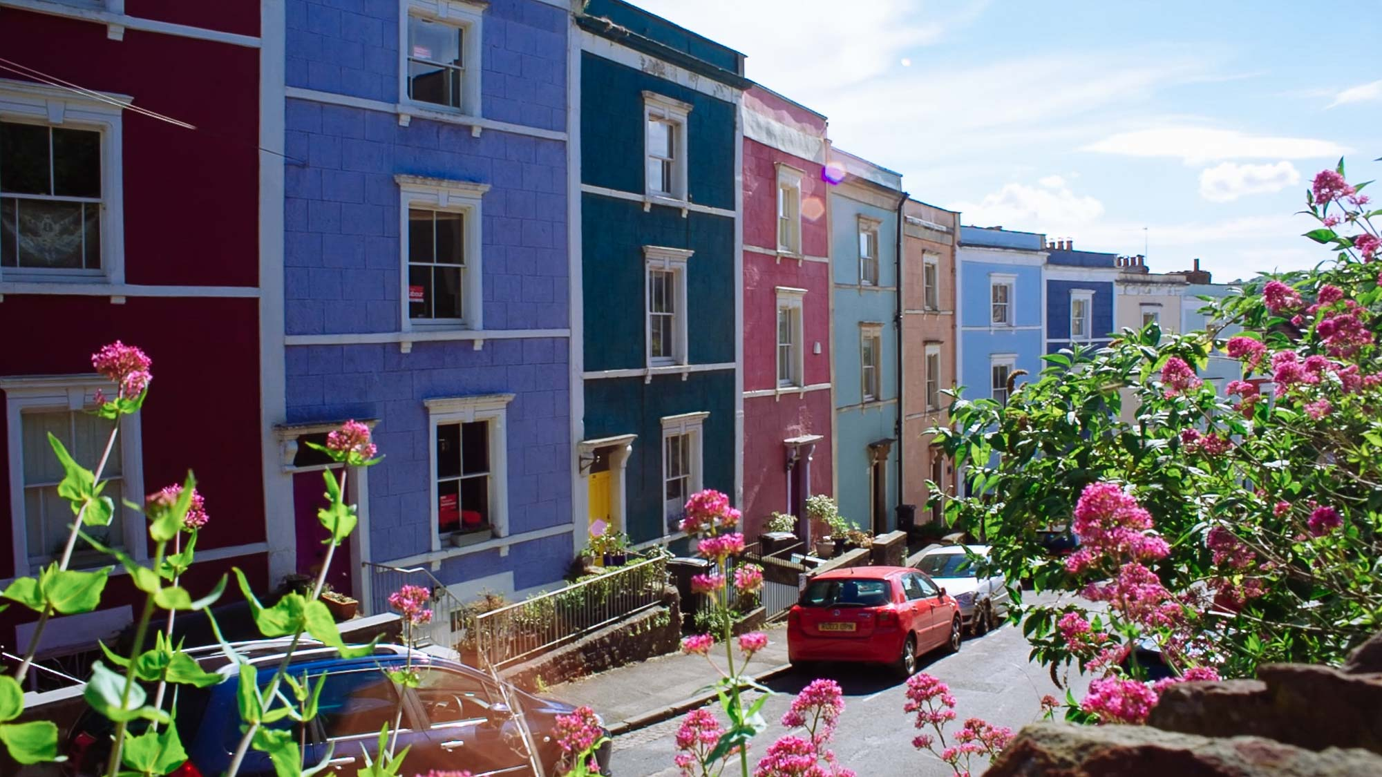 Things to do in Bristol - Clifton Wood Houses
