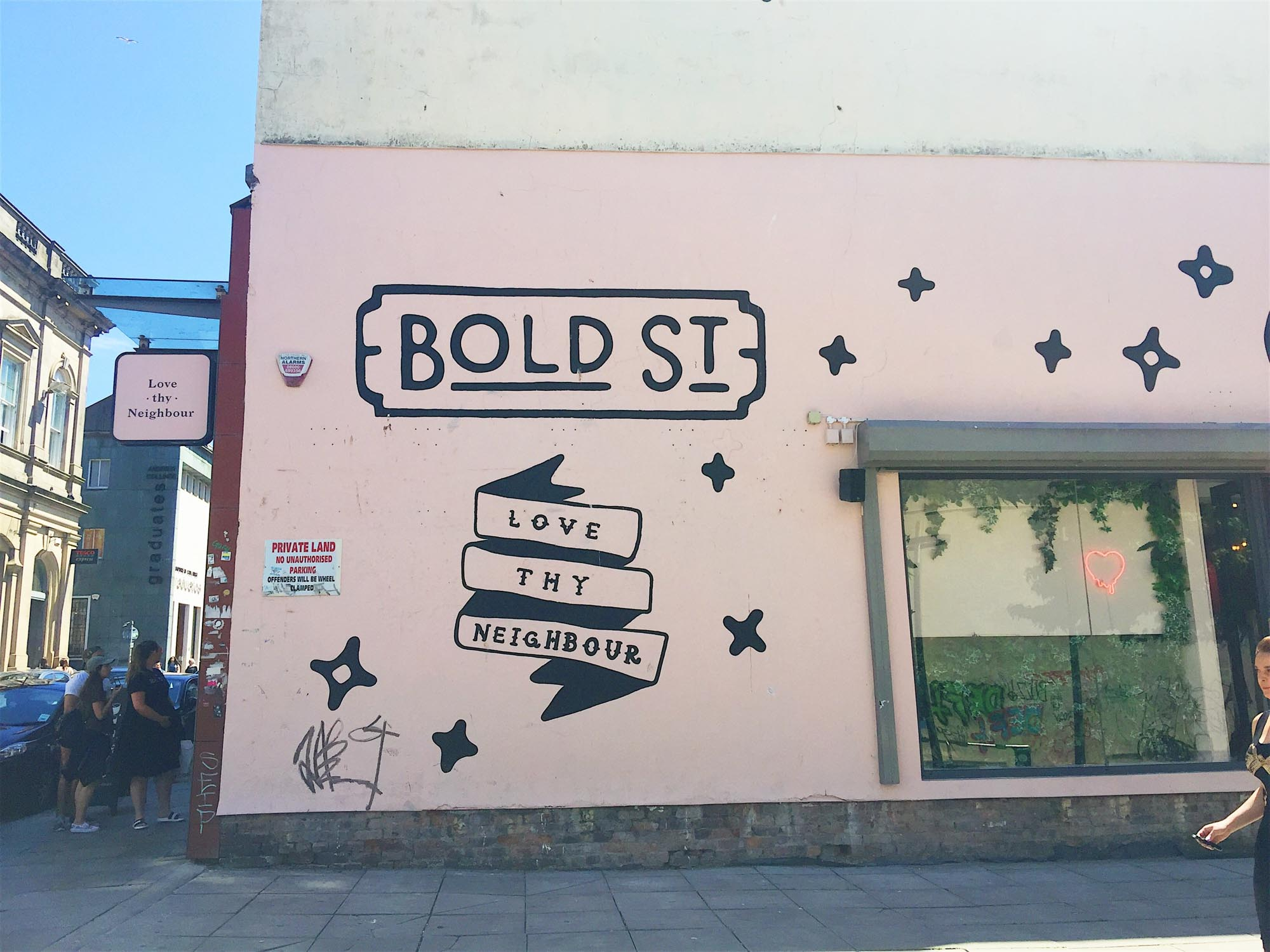 Best things to do in Liverpool - Bold Street - Leaf