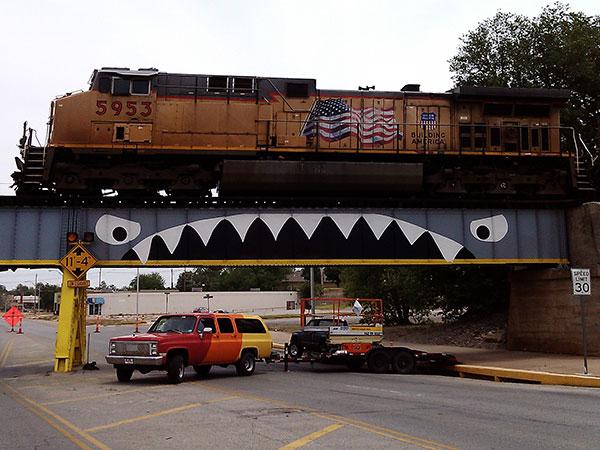 Bridge Shark East Maine Enid Oklahoma
