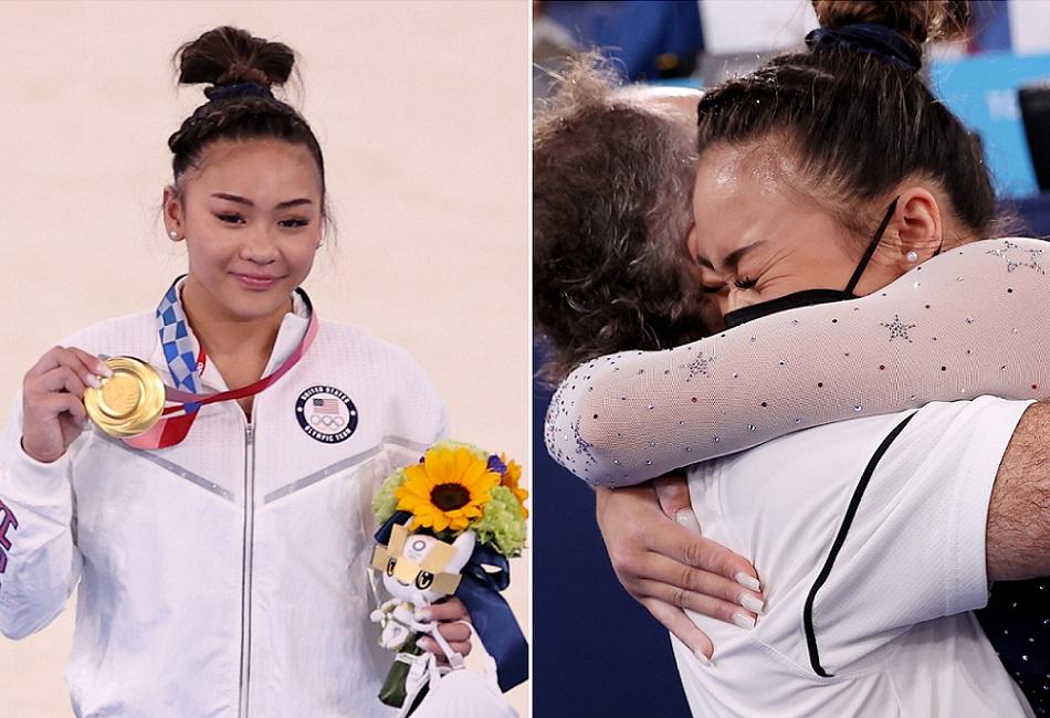 Sunisa Lee wins gold for U.S.