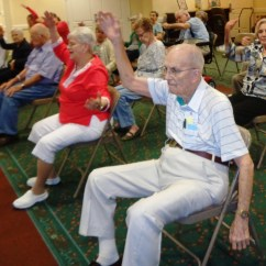 On Chair Dance High Birthday Decorations A Typical Day For Brandon Fl Assisted Living Residents