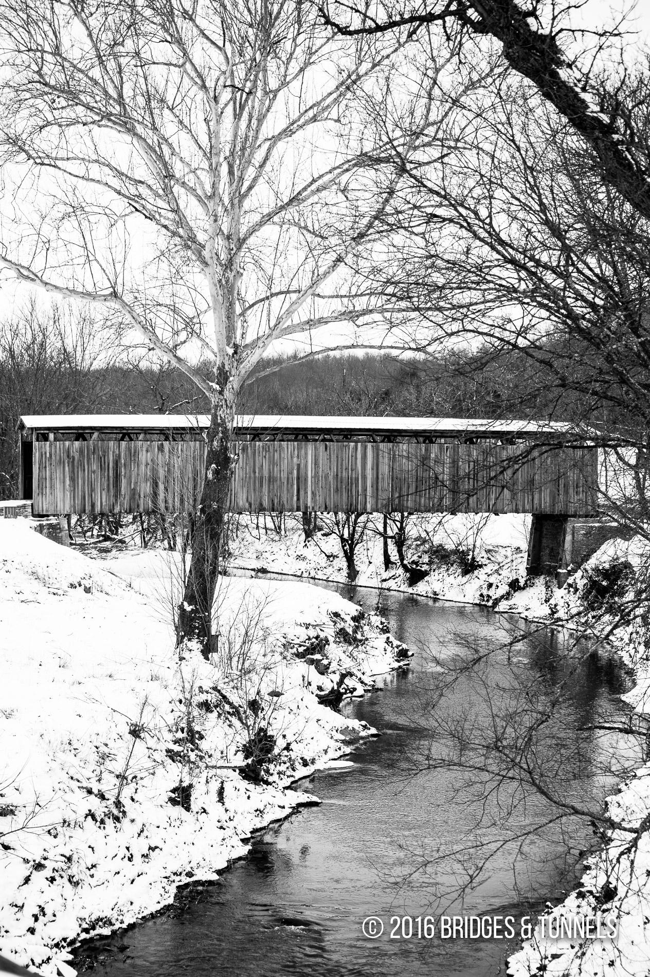 Johnson Creek Covered Bridge