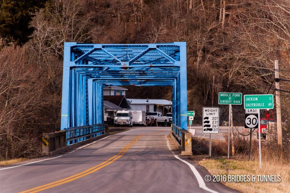 Middle Fork Kentucky River Bridge (KY 30)