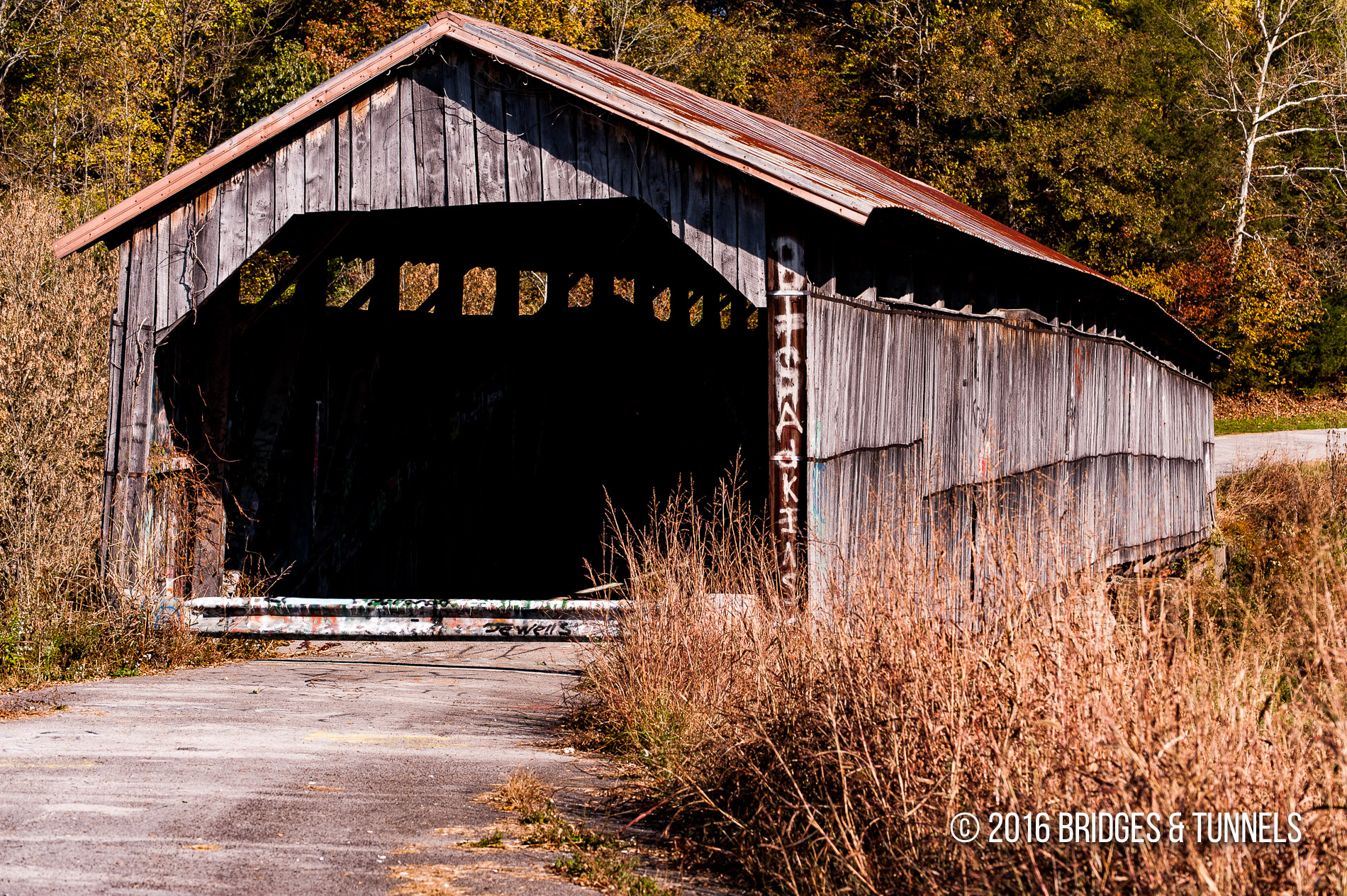 Beech Fork Covered Bridge (Old KY 458)