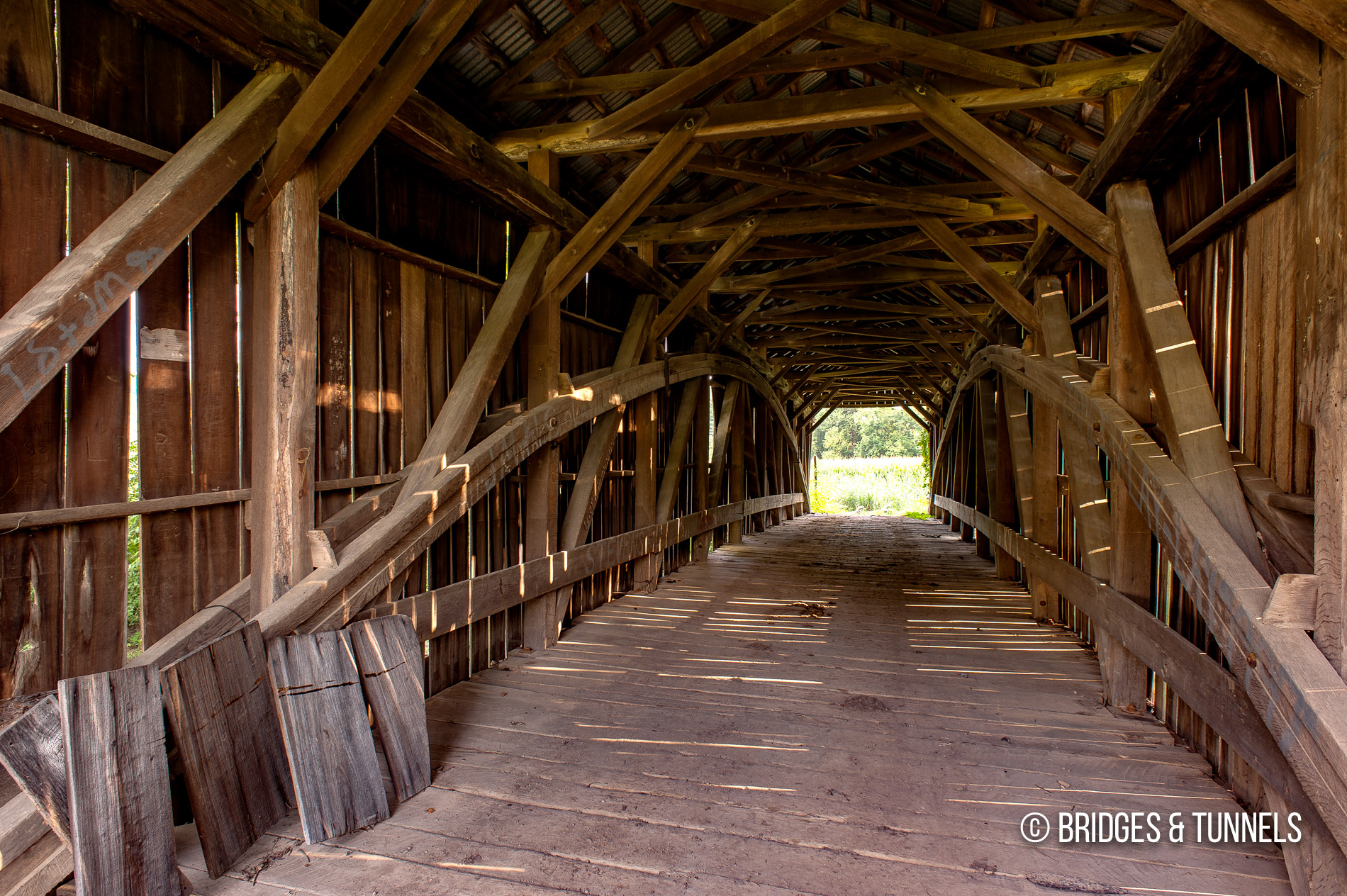 Barkhurst Mill Covered Bridge