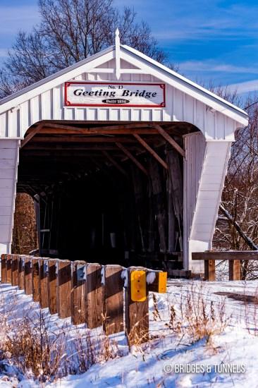 Geeting Covered Bridge