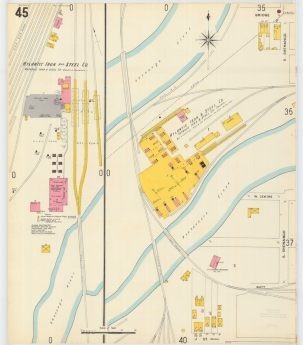 1904 Sanborn Insurance Company Map