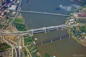 Kennedy Memorial Bridge and Abraham Lincoln Bridge
