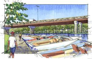 Lewis and Clark Bridge Rendering