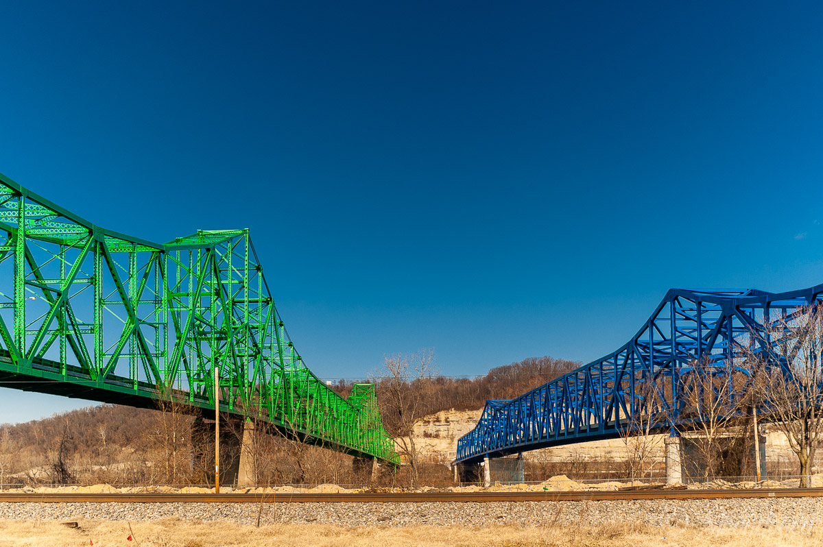 Ben Williamson Memorial Bridge and Simeon Willis Bridge