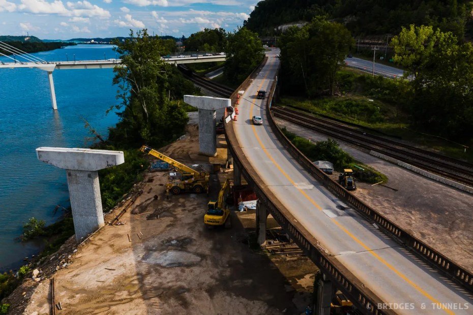 Russell Viaduct Construction