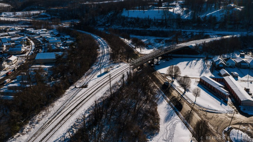 Kenova Railroad Bridge Kenova Approach
