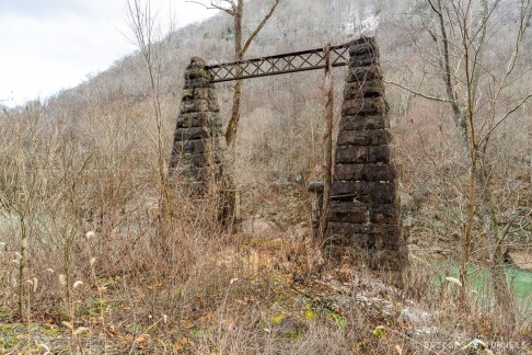 Nuttallburg Suspension Bridge