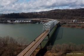 Jennings Randolph Memorial Bridge West Virginia Approach