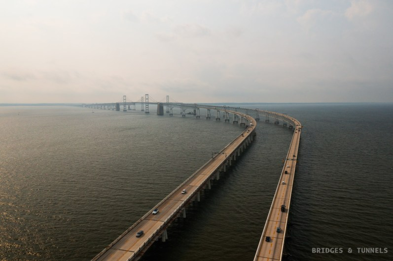 Chesapeake Bay Bridge Western Approach