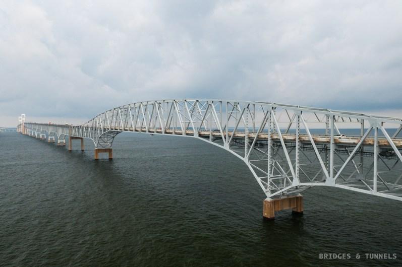 Chesapeake Bay Bridge c. 1973 Eastern Channel Span