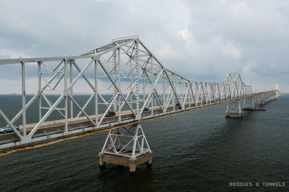 Chesapeake Bay Bridge c. 1952 Eastern Channel Span