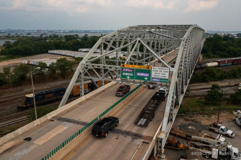 Curtis Bay Yards Bridge