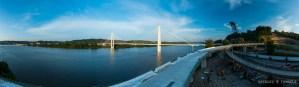 Russell Viaduct and Oakley Clark Collins Memorial Bridge