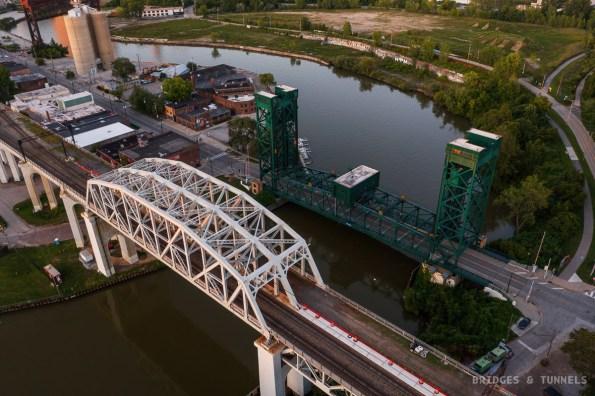 Columbus Road Bridge and Cleveland Union Terminal Viaduct
