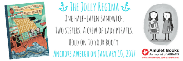 One half-eaten sandwich. Two sisters. A crew of lady pirates. Hold on to your booty.-2