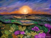Coral Sea Sunrise.