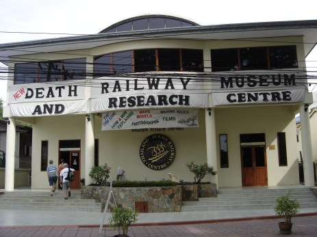 Death Railway Museum which is beside the cemetery