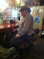 Tortilla Flats Superstition saloon bar stool saddle