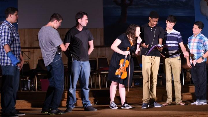 Pilgrim Rehearsal 16