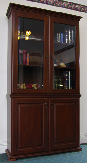 Bridgeton Home Office Furniture  Wooden Bookcase and