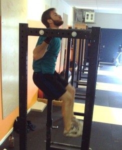 Bridgetown CrossFit chest to bar pull ups
