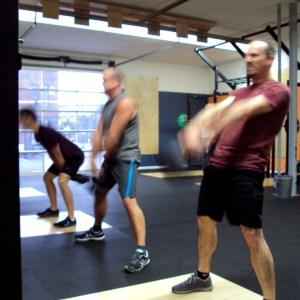 Bridgetown CrossFit Basic Barbell - 3 Dudes KB Swing