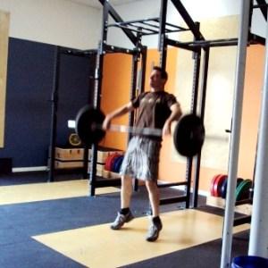 Zach Snatch Pull Brigetown CrossFit