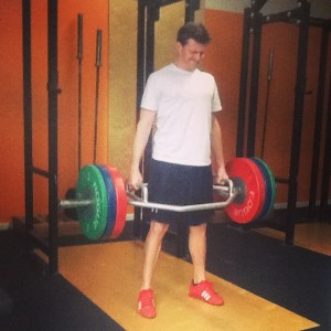 Hex Bar Deadlift Max Chris Bridgetown CrossFit and Barbell Club CrossFit Football Program