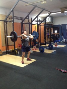 Dori Clean Bridgetown Barbell Club