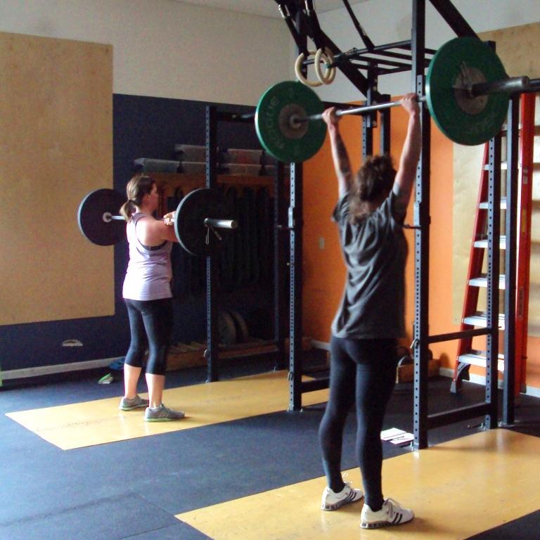 Push Press - Bridgetown CrossFit and Barbell Club