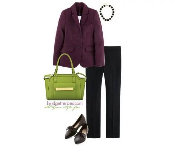 Why You Need a Green Handbag - Bridgette Raes Style Expert