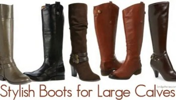 Stylish Boots for Large Calves: Yes it Can Be Done!