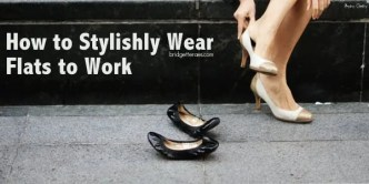wear flats to work