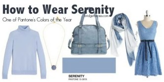 how to wear serenity