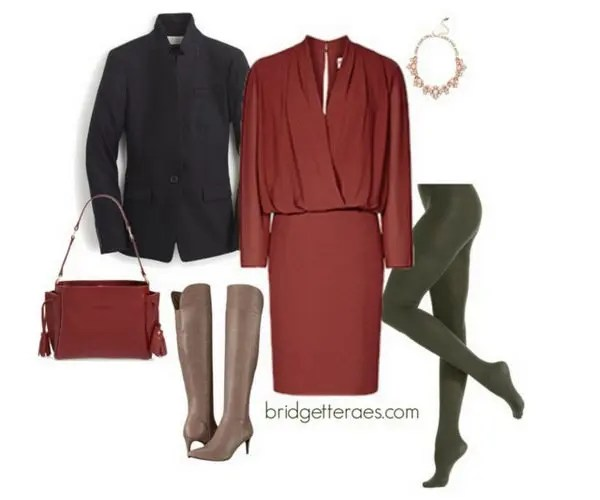 738538cc1e28b9 How to Wear Colorful Tights - Bridgette Raes Style Expert