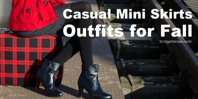 casual mini skirts