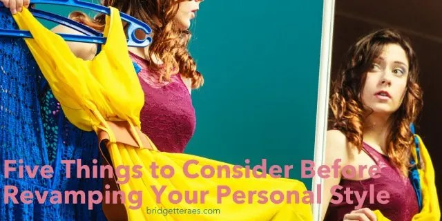 revamping your personal style
