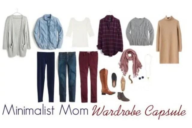 mom wardrobe capsule