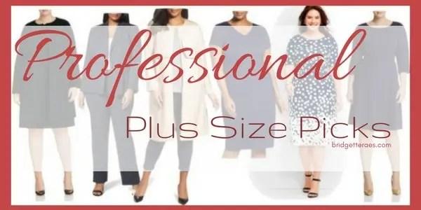 professional plus size