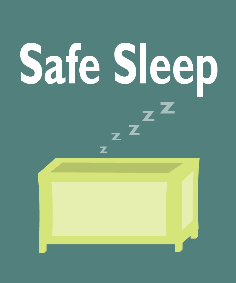 Pregnancy Helpline - Safe Sleep Icon