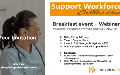 Bridgeview Care – Support Worker Collective – Breakfast Event Show Notes – July 2020